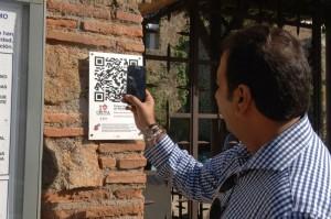 Códigos QR para obtener información de los santuarios