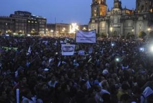 La CDHDF reconoce la manifestación ciudadana pacífica y rechaza los actos de violencia
