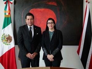 México y Trinidad y Tobago conmemoran  50 años de relaciones bilaterales