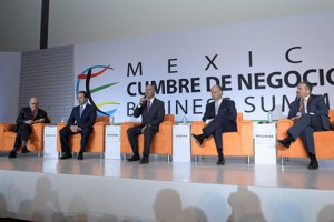 """Participa el titular de la SAGARPA  en el evento: México Cumbre de Negocios """"Business Summit"""", durante el panel Desarrollo de Tecnologías en el sector Agroalimentario."""