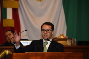 La nueva constitución es la mejor oportunidad para saldar este pasivo,  expone ante los titulares de la CDHDF, TCA y la Consejería Jurídica capitalinos:Fernando Zárate