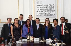 Integrantes de la Comisión Legislativa