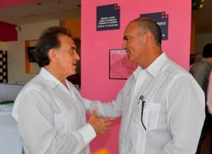 Secretario José Calzada y gobernador de Veracruz-
