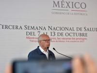 Secretario José Narro, pone en marcha Semana de Salud
