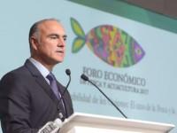 Inaugura titular de SAGARPA, José  Calzada,  Foro de Pesca