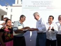 Gobierno federal mantiene apoyo a damnificados en Oaxaca