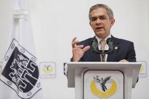 Dr. Miguel Angel Mancera Espinosa, jege de Gobierno de la Ciudad de México