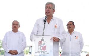El secretario Gerardo Ruiz Esparza dio el banderazo de inicio de operación del Libramiento de Villahermosa, en su primera etapa (CG 057)