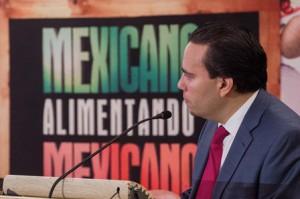 Alejandro Vázquez Salido,diurector de ASERCA en foro Mexicanos-alimentando-a-mexicanos