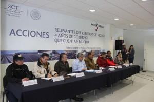 Conferencia sobre el incidente del Distribuidor Vial Alfredo del Mazo,