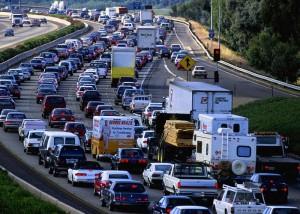 Intenso uso de carreteras