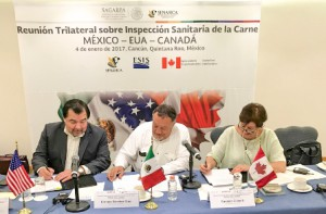 Firma de acuerdo trilateral