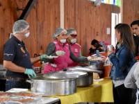 Instala Sedeso primer comedor emergente móvil cdmx en unidad habitacional Tlalpan