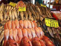 Amplia oferta de pescados y mariscos de producción nacional disponibles, a precios accesibles y frescos, en los mercados del país