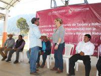 Semarnat comprometido con ejidatarios de Teopisca, Chiapas en el cuidado de sus bosques