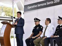 Inicia Operativo Semana Santa en Carreteras del país