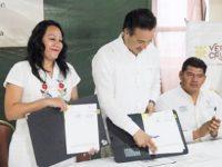 Firma Secretaría de Bienestar convenio para sembrar 29 millones de plantas en viveros de Veracruz