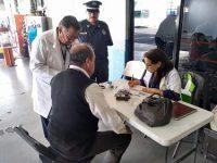 SCT realizó 45 mil 744 exámenes médicos  para garantizar seguridad de los viajeros