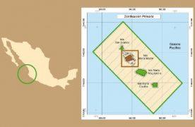 Mapa de las Islas Marías